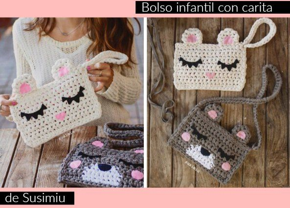 750 best crochet tejer y bordar 1 images on pinterest - Tejer con trapillo ...