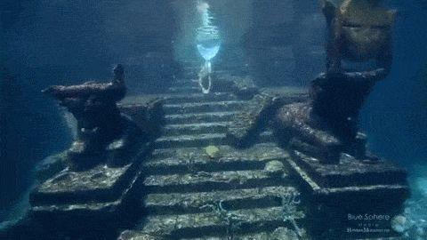 Mermaid Ripple — mermaidmargo: Hannah Mermaid Source Gifs by...