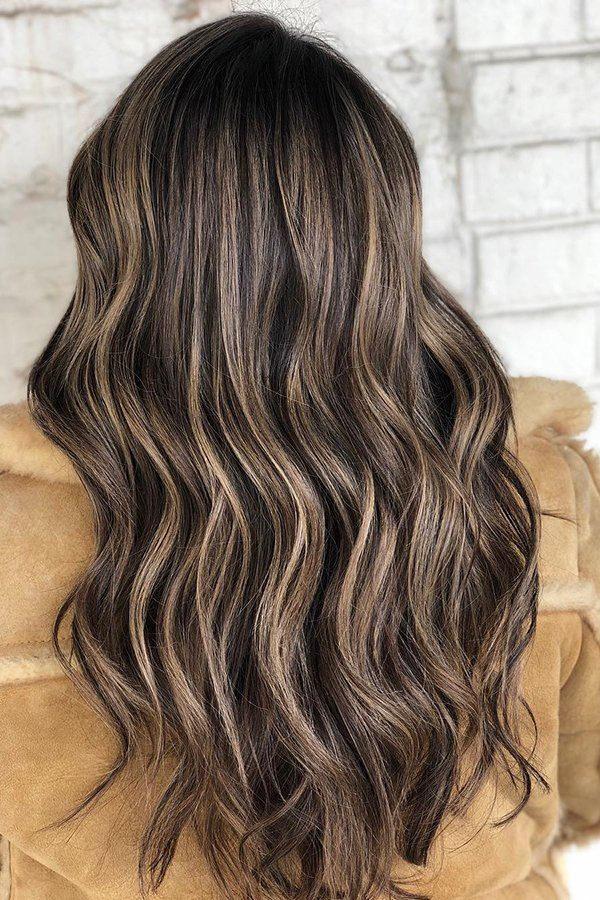 Wavy Carmel Coffee Balayage With The Whirltrio Curlyhair Curls Curlingiron Bouncycurls T3hair Hairinspo Hairstyle Hair Styles Curly Hair Styles Hair