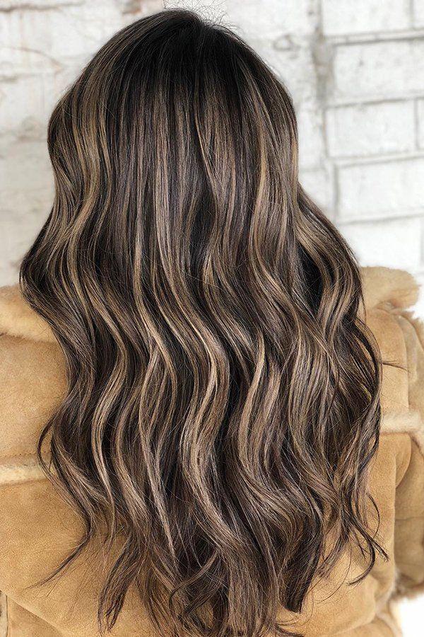 Wavy Carmel Coffee Balayage With The Whirltrio Curlyhair Curls Curlingiron Bouncycurls T3hair Hairinspo Hairstyle Hair Styles Curly Hair Styles Hair