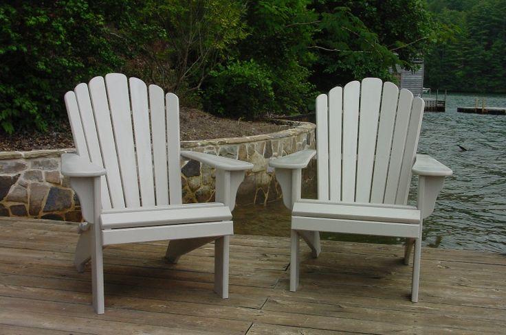 Plastic Resin Adirondack Chairs