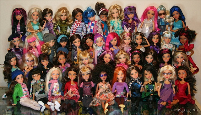 Omg if my niece had 47 liv dolls I would go crazy. But I do love liv dolls at first I collected them and gave them to my niece. they are wayyyy better than Barbie in my opinion.