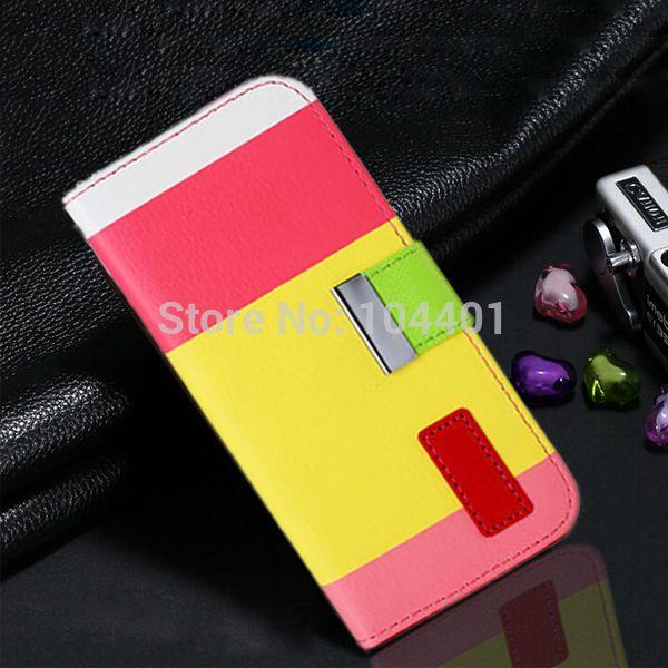 Гибридный кожаный чехол для Apple , iPhone 6 уникальный дизайн карт памяти строить-в бумажник стенд телефон чехол для iPhone6 4.7