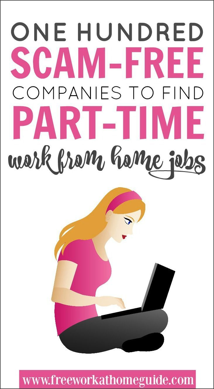 100 Scam-Free Companies To Find Part-Time Jobs Online Did you know there are ton… – İn design.ga