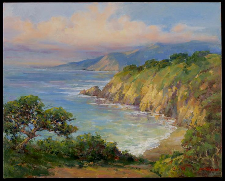 sergei bongart paintings | Painting Plein Air - April 5-7 | California Art Institute