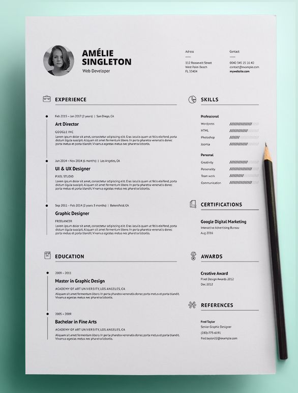 Best Antlia  Resume Template Images On   Survival