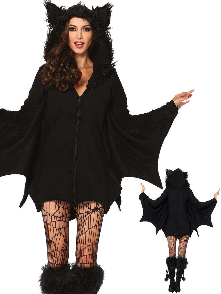 Leg Avenue Women's Cozy Bat Costume | Halloween costume ideas  http://amzn.to/2bUkol5