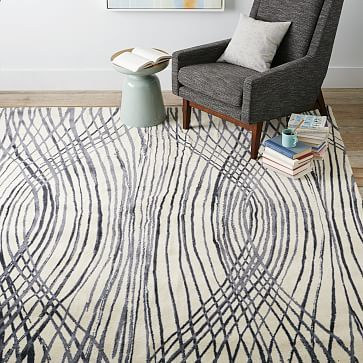 on sale 30% off right now for the 9x12 Sarah Campbell Linear Ogee Rug