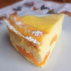 ...aber dafür mit Pudding. Käsekuchen sind meine heimliche Leidenschaft, ich komme an kaum einer Sorte vorbei - außer, es sind Rosinen drin...