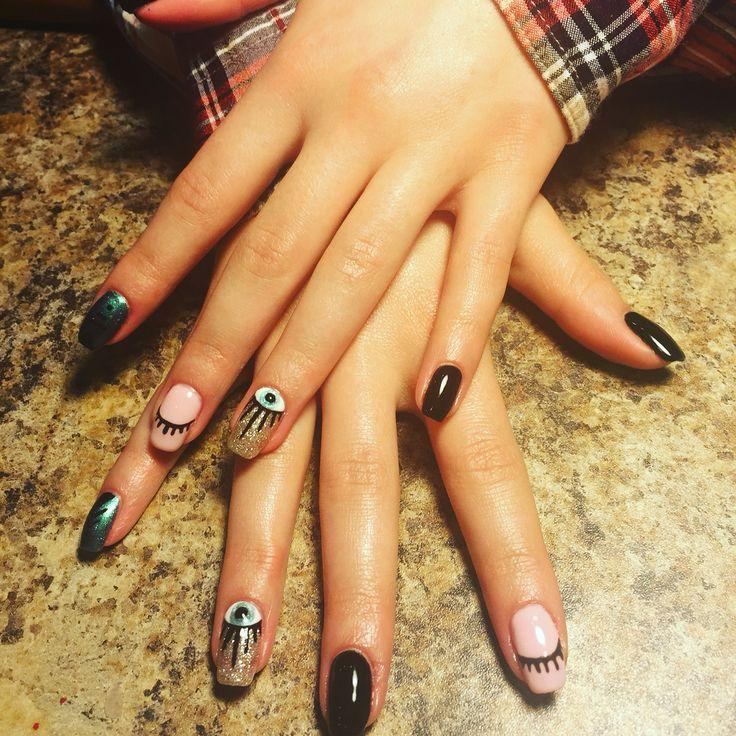19 best Nails images on Pinterest | Evil eye nails, Fingernail ...