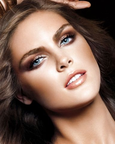 Copper Makeup for Blue Eyes #EasyNip