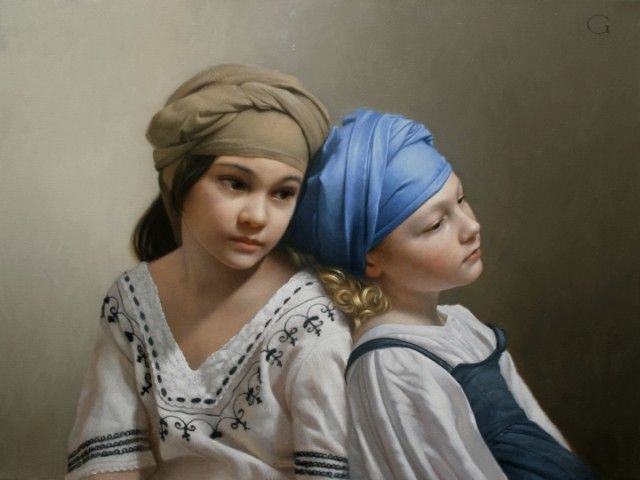 David Gray Classical Realism Oil Paintings - figure-archive
