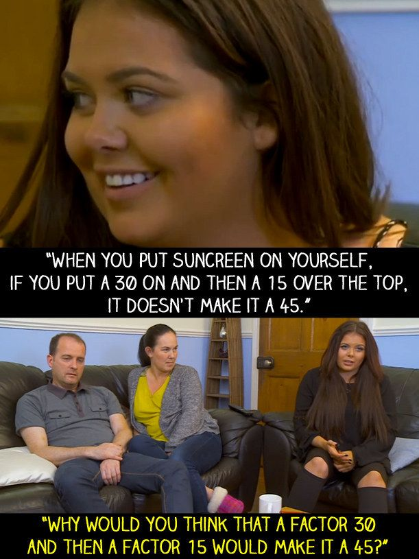 """When Scarlett learnt this about sunscreen. 
