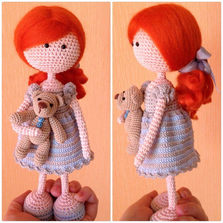 Amigurumi Human Nose : Crochet dolls, Amigurumi and Cute outfits on Pinterest