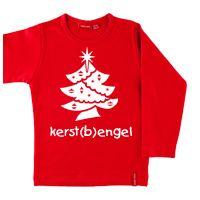 Kerst T-shirt met naam #kerst#kerstengel#bengel