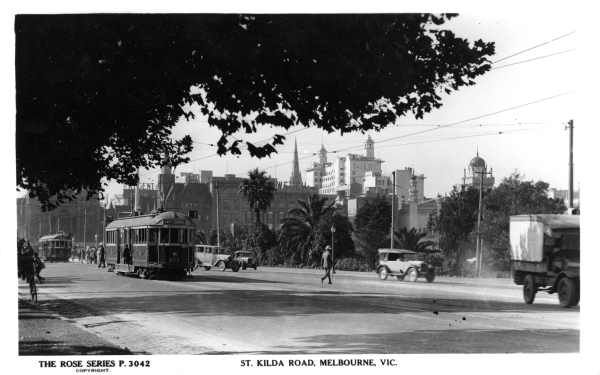 ST.KILDA ROAD, MELBOURNE, VIC. [picture] , State Library of Victoria