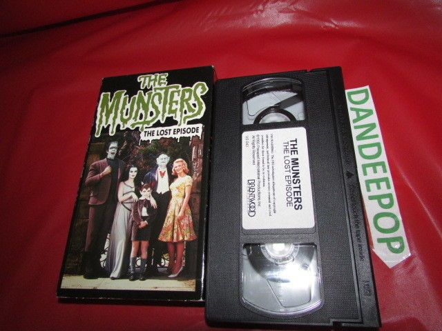 The Munsters Lost Episode VHS B&W & Color  Movie #TheMunsters #LostEpisodeVHS Find me at dandeepop.com