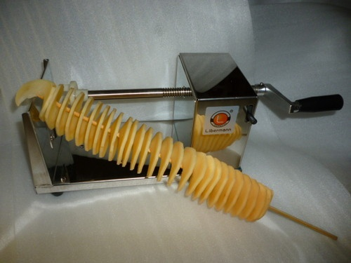 LATEST MODEL SPIRAL POTATO CUTTER- TORNADO CHIP CUTTER HOT CHIP SLICER 4 MARKETS