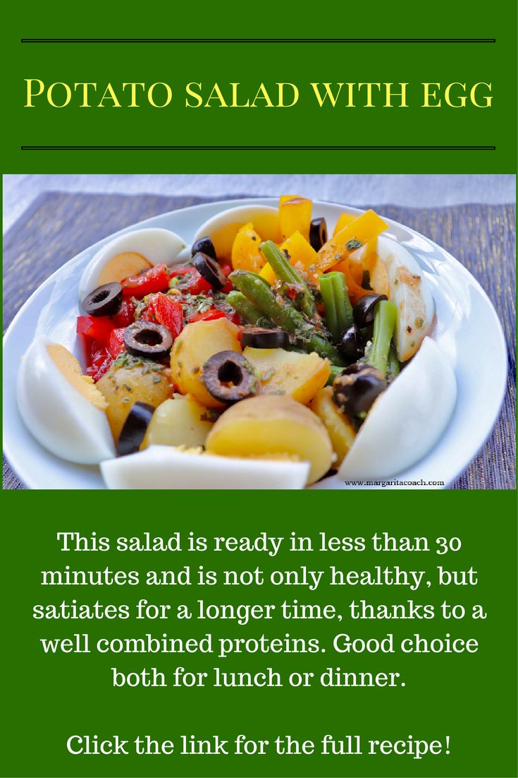 This salad is ready in less than 30 minutes and is not only healthy, but satiates for a longer time, thanks to a well combined proteins. Good choice both for lunch or dinner.  Click the link for the full recipe!