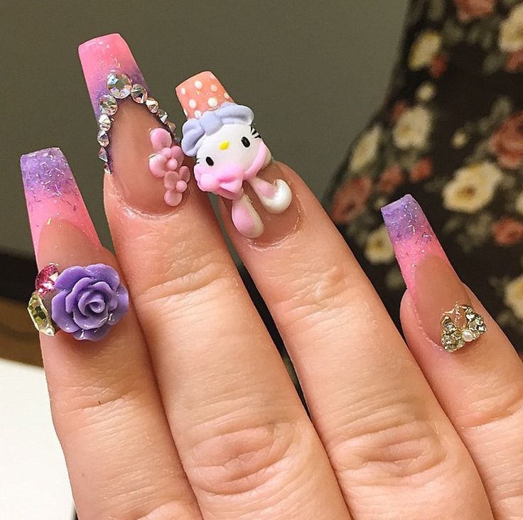 91 best Japanese nails images on Pinterest | Nail scissors, Cute ...