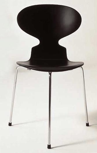 """The Ant"" with three legs by Arne Jacobsen - manufacturer Fritz Hansen"