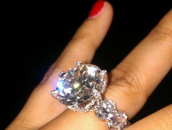 Engagement Ring...tons of bling!