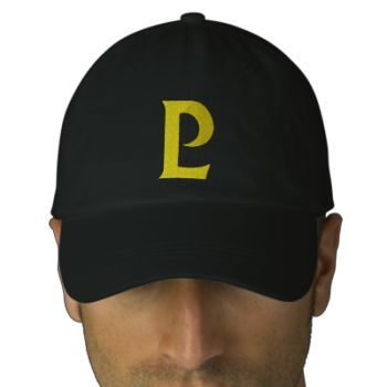 Pluto's P on an embroidered hat! #merchbooth #pluto #planetoid #bring #back squidoo