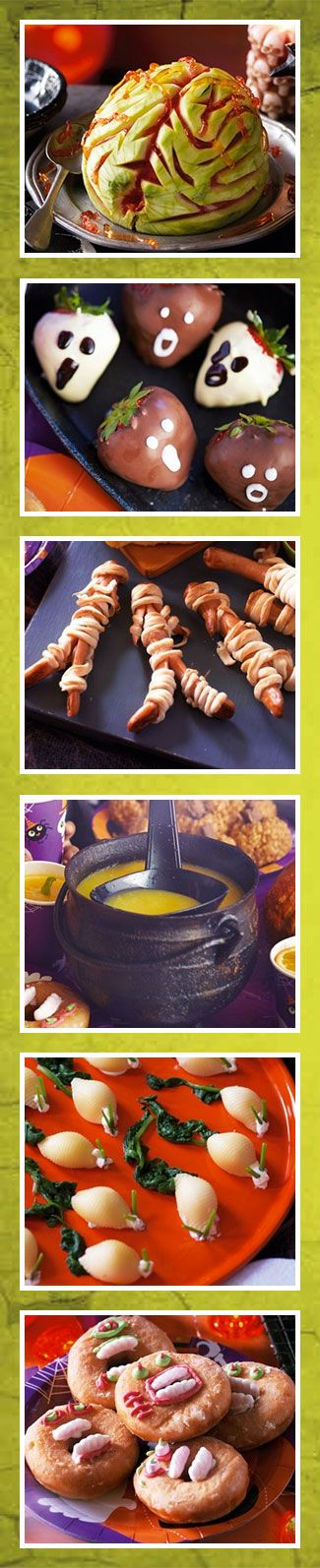 There are loads of fun Halloween recipes on our recipe site!
