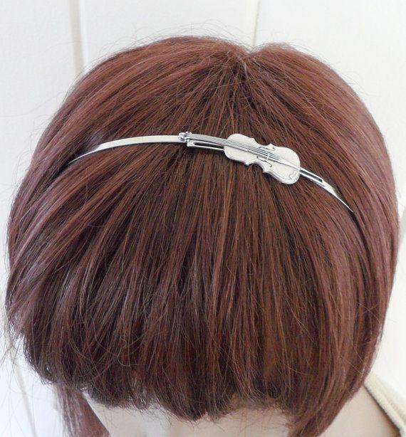 violin headband, etsy