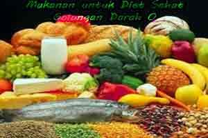 setiap tubuh kita mempunyai cara yang berbeda dalam mencerna dan jenis makanan yang dikonsumsi. Maka bagi anda anda yang bergolongan darah O dan ingin menjalani program diet tentunya harus bisa memilih jenis makanan diet yang cocok untuk anda konsumsi
