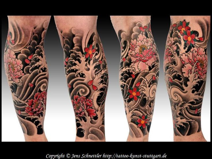 japanisches tattoo von jens schnettler kirschbluete peony 800 600 tattoo arm. Black Bedroom Furniture Sets. Home Design Ideas