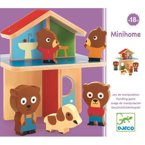 Macik kicsiny házikója- Minihome Djeco ÚJ! | Pandatanoda.hu Játék webáruház