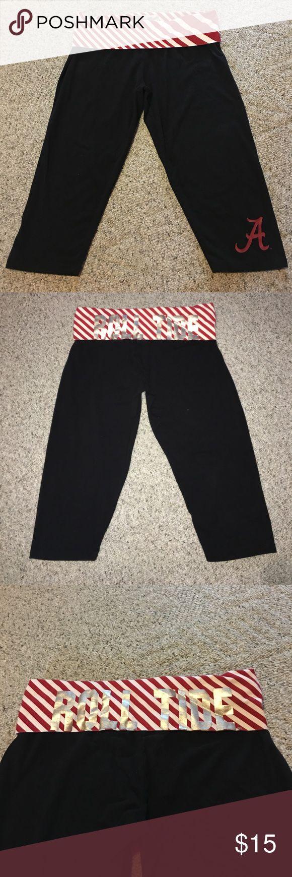 Spotted while shopping on Poshmark: ❤️Women's XL 🐘ROLL TIDE🐘 Capri Leggings❤️! #poshmark #fashion #shopping #style #E5 College Classics #Pants