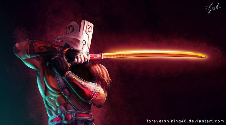 Juggernaut Dota 2 fanart by ForeverShining46
