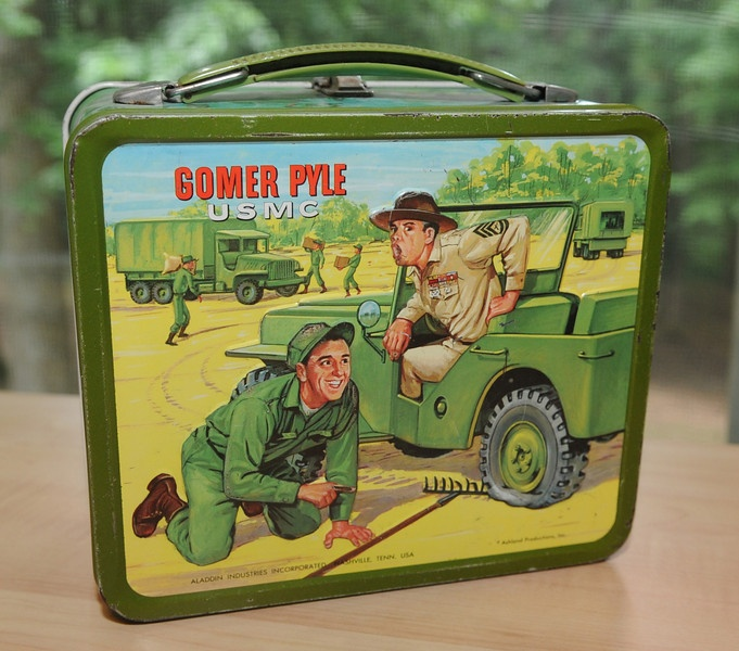 Gomer Pyle lunch Box - 1966