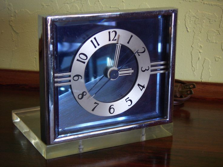 17 best images about streamline moderne on pinterest Art deco alarm clocks