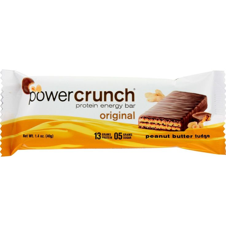 Power Crunch Bar - Peanut Butter Fudge - Case of 12 - 1.4 oz