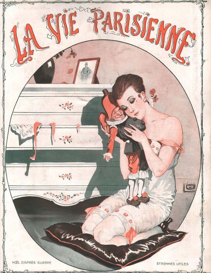 Georges Léonnec (1881 – 1940). La Vie Parisienne, December 1919.
