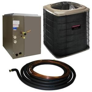 Winchester 3.5 Ton 13 SEER Quick Connect Air Conditioner System with 21 in. Coil and 30 ft. Line Set