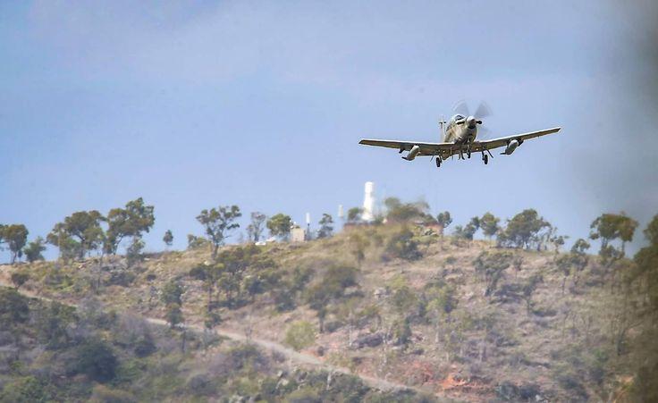 RAAF Pilatus PC-9/A - Photo by: Ian Hitchcock