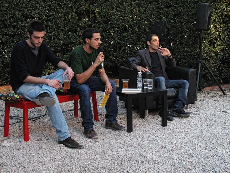 #flep2013 Parco Monumentale // Dentro (Einaudi)  incontro con Sandro Bonvissuto, intervengono Marco Lupo e Luciano Funetta —