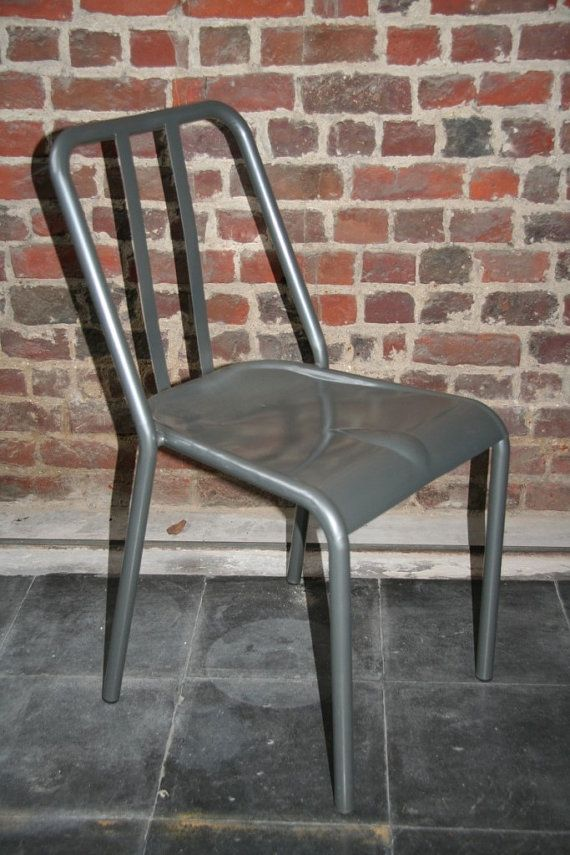 Retro French Style Bistro Chair SILVERGREY NOT By MyBistroTable $56