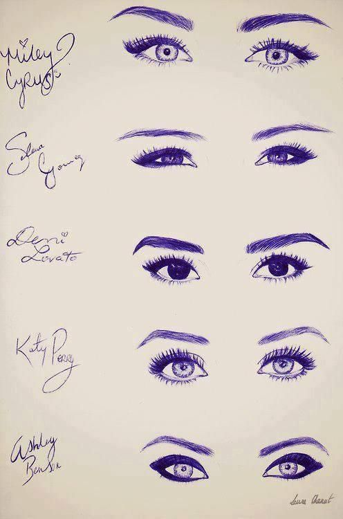 Who has the prettiest eyes! Miley Cyrus,Selena Gomez,Demi lovato, Katy perry,or my fav person Ashley Benson!!!!!