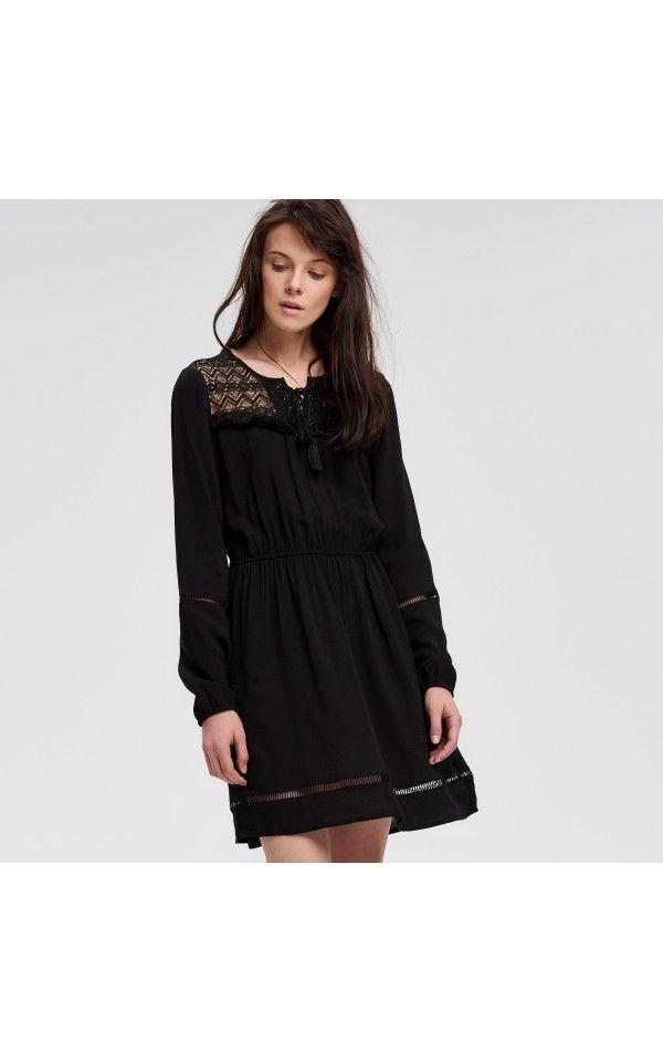 Льняное платье в стиле бохо 53