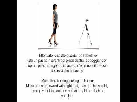 Top designs/fitting room Istruzioni modalines per scattare la foto