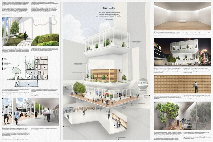 """"""" TIGER VALLEY """" - Tokyo Vertical Cemetery competition finalist"""