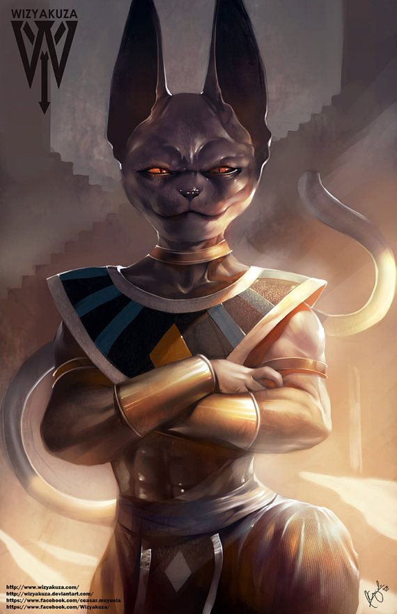 Beerus Bills Dragon Ball Z Super Battle of the Gods by Wizyakuza - CLS
