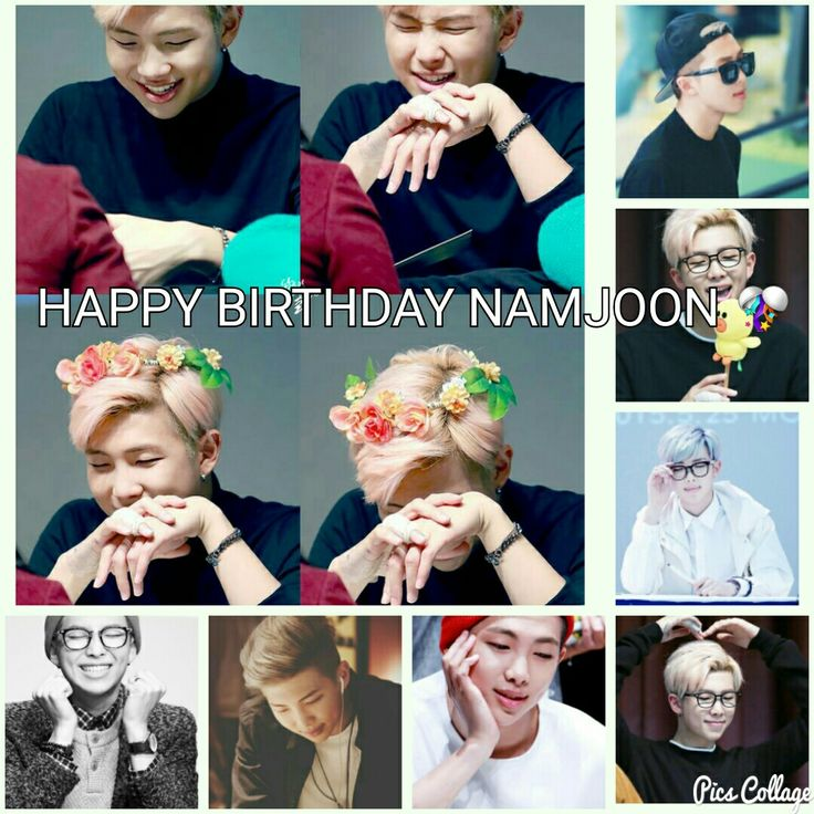 Happynamjoonday.. to our fearless and inspirational leader... ❤❤
