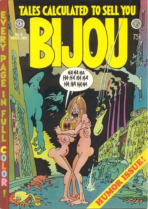 Bijou Funnies 8 by #Harvey_Kurtzman #underground_comics