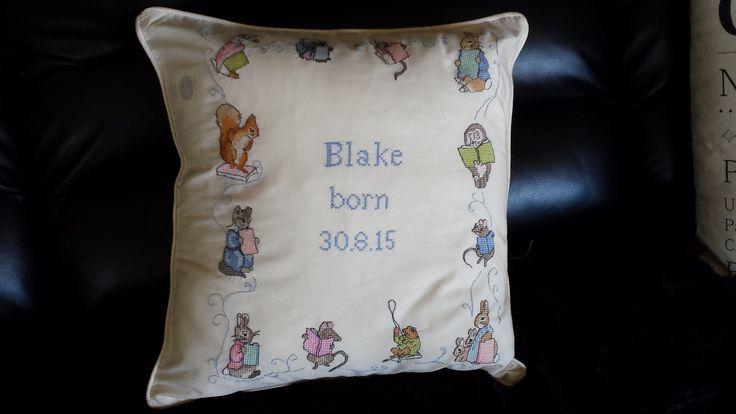Blake Jones Clarke born 30.8.15
